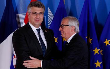 Plenković i Junker