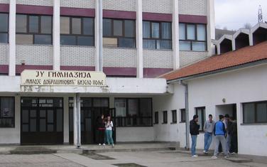 """Gimnazija """"Miloje Dobrašinović"""" nudi 140 mjesta"""