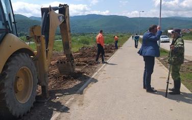 Čišćenje zemljišta kod obilaznice
