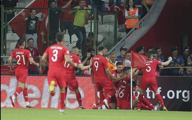 Fudbaleri Turske slave gol protiv Francuske