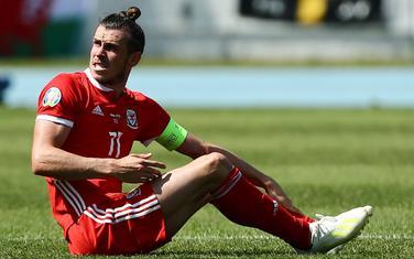 Bejl u dresu Velsa na jučerašnjoj utakmici sa Hrvatskom