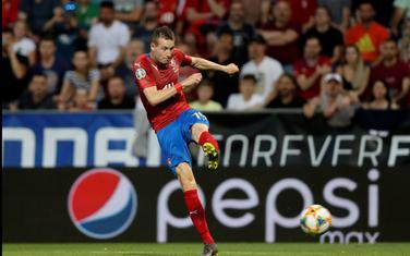 Jankto postiže gol za Češku