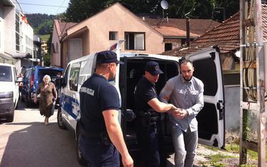 Zekića policajci dovode na suđenje