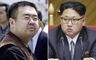 Kim Džong Nam i Kim Džong Un