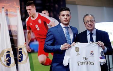 Luka Jović i Florentino Peres