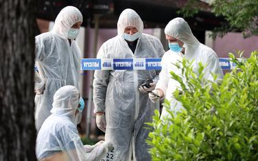Forenzičari nakon pucnjave na Cetinju