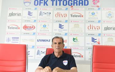 Dragoljub Đuretić, novi trener OFK Titograda