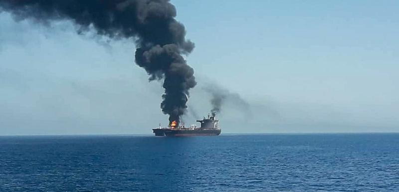 Napadnuti tanker u Omanskom moru