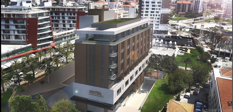 Projektovani izgled hotela