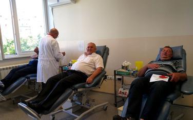 Dobrovoljni davaoci krvi - Željezara