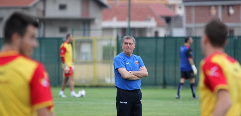 Tumbaković na treningu