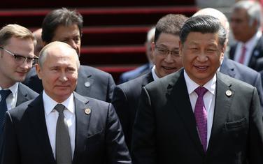 Vladimir Putin i Si Đinping
