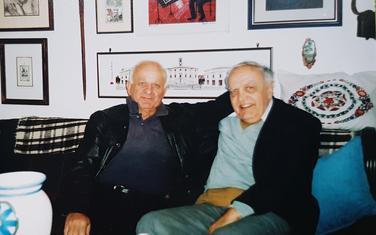 S. Vuković i Mišo Popović u Beranama 2005