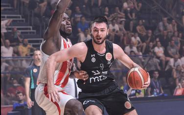 Sa meča Crvena zvezda - Partizan