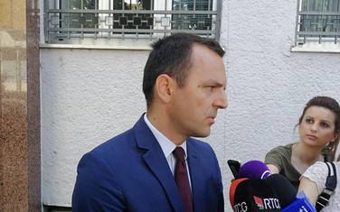 Đurđić ispred Višeg suda u Podgorici