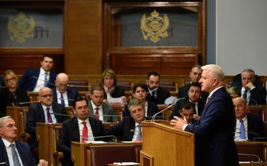 Premijer Crne Gore Duško Marković u Skupštini