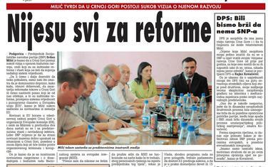 Vijesti, 17. jun 2009.