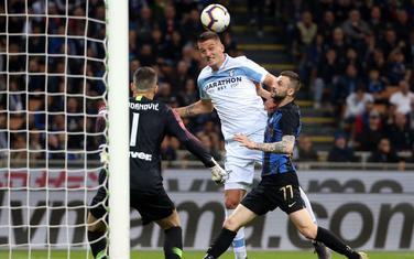 Milinković Savić na meču protiv Intera