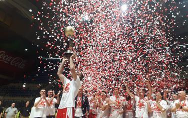 Slavlje košarkaša Zvezde
