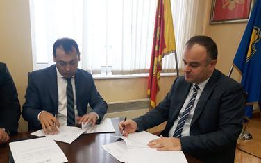 Sa potpisivanja ugovora