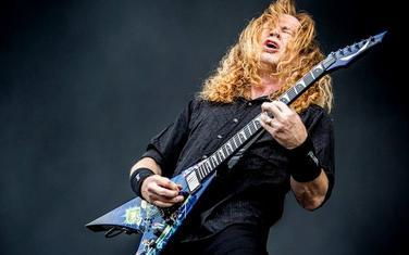 Dejv Mastejn - pjevač i gitarista Megadeta 1983. godine