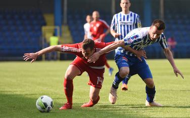 Sa utakmice Budućnost - OFK Titograd