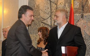 Uručenje Trinaestojulske nagrade Rajku Todoroviću 10. jula 2009.