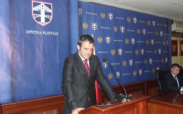 Predsjednik Opštine Pljevlja Igor Golubović