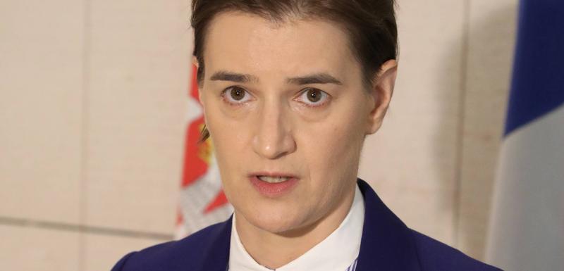 Neće da se ogradi od ministrove izjave: Brnabić