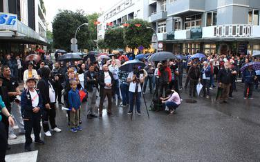 Sa poslednjeg protesta u Podgorici