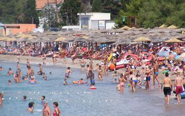 Voda odličnog kvaliteta: Slovenska plaža