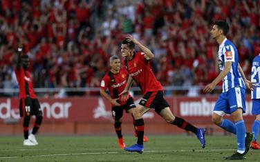 Budimir slavi gol za 1:0