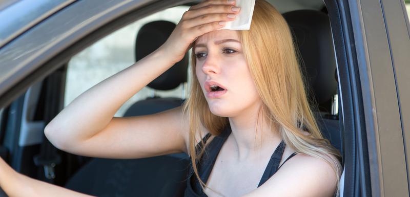 Vrućina u autu