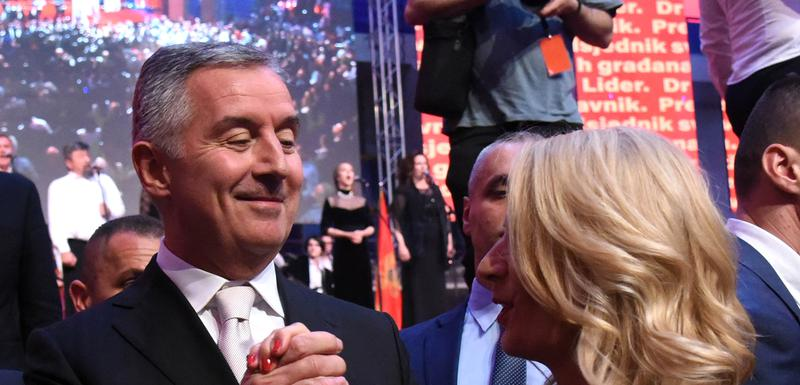 Predsjedniku plata 2.070 eura: Milo i Lidija Đukanović