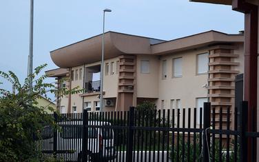 Prihvatni centar za azilante u Spužu