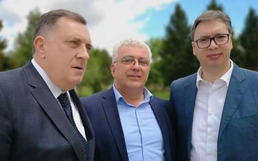 Susret na Vidovdan: Milorad Dodik, Mandić i Vučić