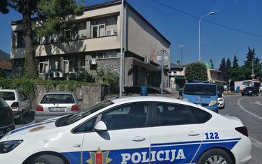 Policija pripravna: Juče ispred zgrade suda u Danilovgradu