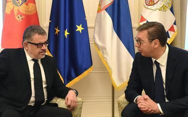 Mićunović i Vučić