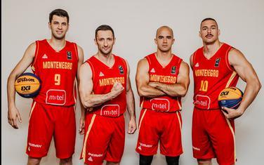 Crnogorski basketaši