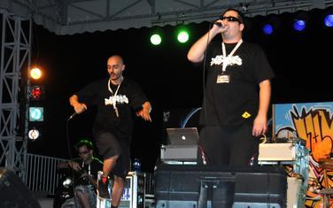 Regionalni hip hop spektakl Asfaltiranje, Prti Bee Gee