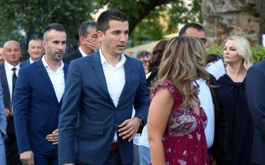 Bečić i Bogdanović na prijemu u ambasadi SAD u Podgorici