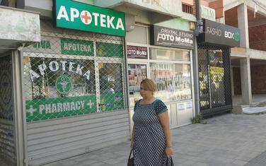 Rešetke i na apotekama u sjevernom dijelu Mitrovice