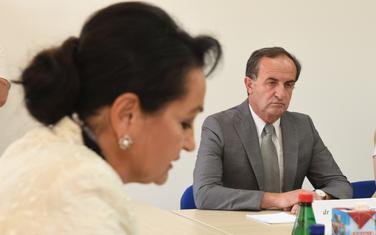 Medenica i predsjednik Sudskog savjeta Mladen Vukčević