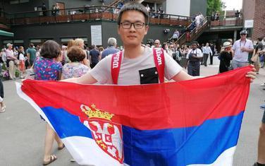 Li na turnire nosi zastavu Srbije