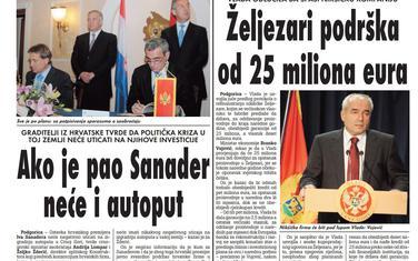 Vijesti, 3. jul 2009.
