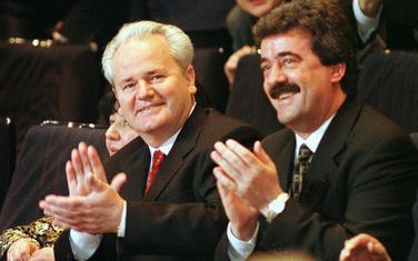 Milošević i Bulatović dok su bili na čelu savezne države (arhiva)