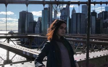 Sara Jovović u Bostonu