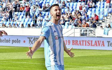 Andraž Šporar, najbolji strijelac Slovana