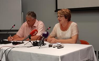 Avramović i odbornica Bruna Lončarević