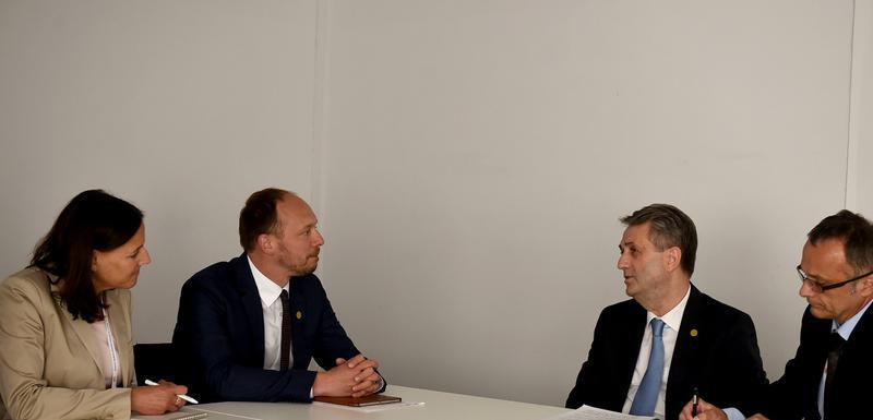 Sa sastanka Vandervica i Nuhodžića
